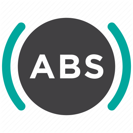 Abs, Auto, Brake, Safety Icon