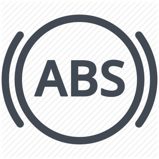 Abs, Brake, Brakes, Car Indicator, Dashboard, Service Icon