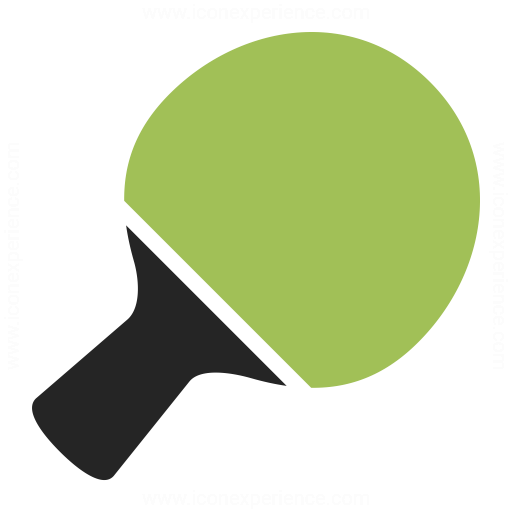 Table Tennis Racket Icon Iconexperience