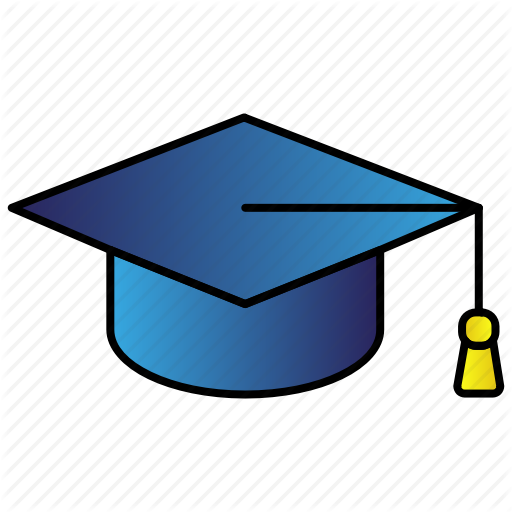Academic, Cap, Education, Graduation, Hat Icon