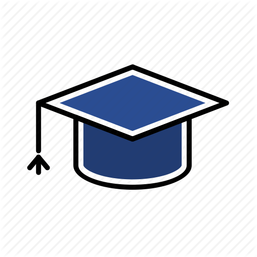 Academic, Class, Graduate, Senior, University Icon