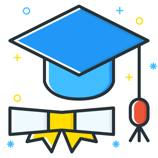 Graduate Icon Job Seeker Iconset Inipagi Studio