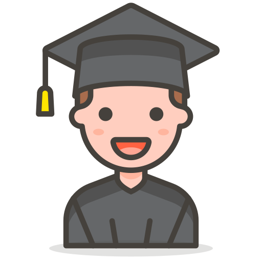 Man, Student Icon Free Of Free Vector Emoji