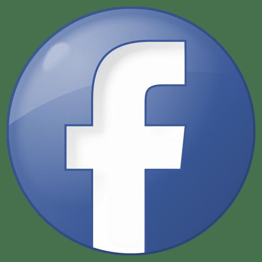 Social Facebook Button Blue Icon