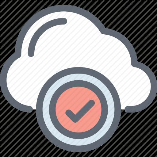 Cloud Acceptance, Cloud Checkmark, Cloud Computing, Cloud Network
