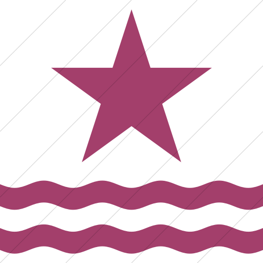 Simple Pink Iconathon River Access Point Icon