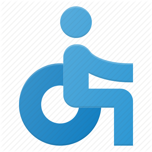 Accessibility, Disability, Disable, Disabled, Wheelchair Icon
