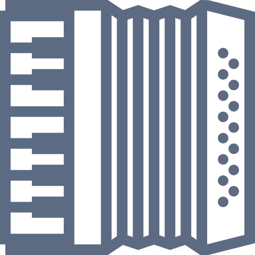 Accordion, Musical, Instrument Icon Free Of Musical Instruments