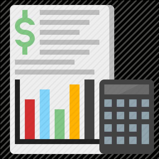 Accounting, Basic Accounting, Bookkeeping, Digital Accounting Icon
