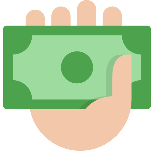 Cash In Hand, Cash Icon Free Of The Nucleo Flat Business Icons