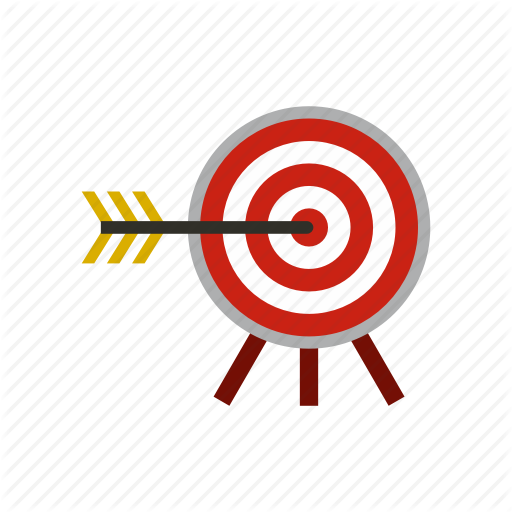 Accuracy, Arrow, Center, Dart, Strategy, Success, Target Icon