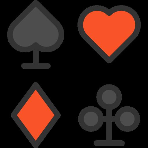 Poker, Hearts, Gaming, Spades, Diamonds, Casino, Bet, Clubs
