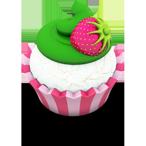Vanilla Cupcake Icon Aka Acid Cake Iconset Archigraphs
