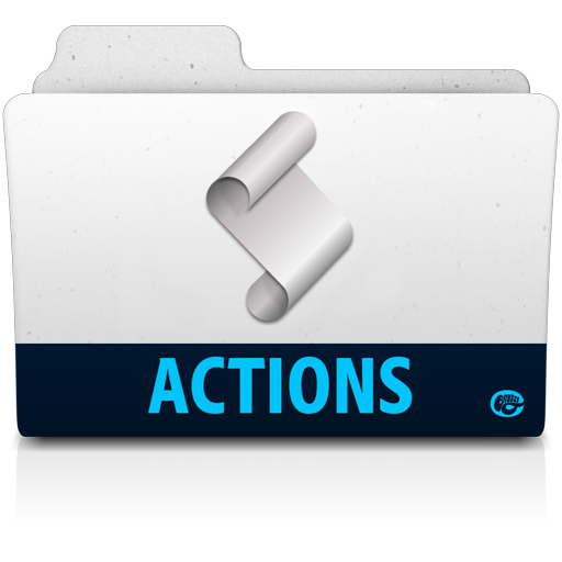 Action Folder Icon Adobe Folders Iconset Vladgohn