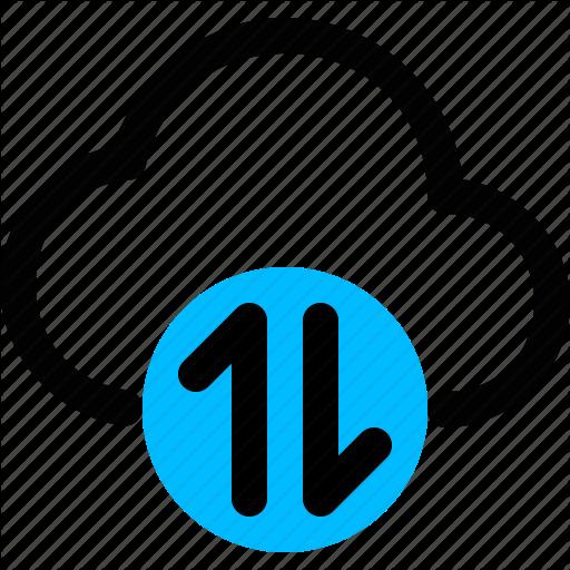 Active, Active Cloud, Data, Online, Server Icon