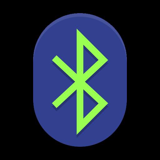 Bluetooth Active Icon Papirus Status Iconset Papirus