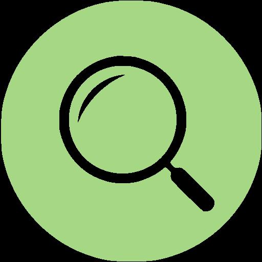 Guacamole Green Active Search Icon