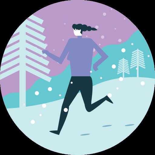 Active, Activity, Run, Sport, Warm, Winter, Workout Icon Free
