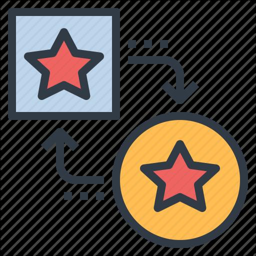 Adapt, Convert, Exchange, Point, Transfer, Transform Icon