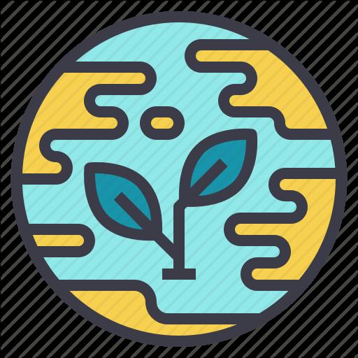 Earth, Eco, Environment, Plant, Sustainability, World Icon