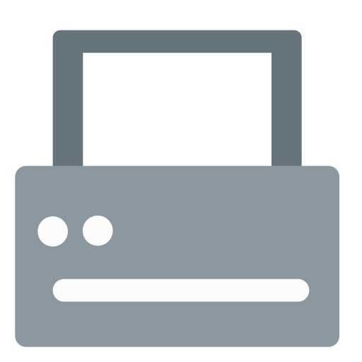 Printer Icon Free Of Zafiro Devices