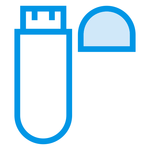 Usb, Network, Wireless, Adapter, Signal, Wifi, Connection Icon