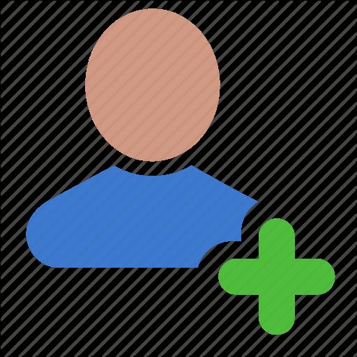 Account, Add, Friend, New, Profile, User Icon