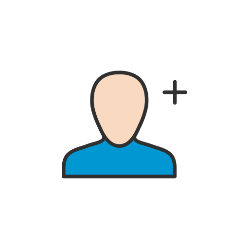 Network, Add User, Friend Request, Grow Network Icon