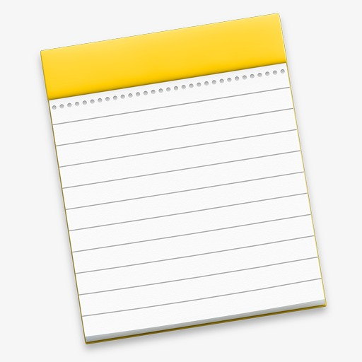 Notes Icon Apple Os System, Notes Icon, Apple Icon, Os System Png