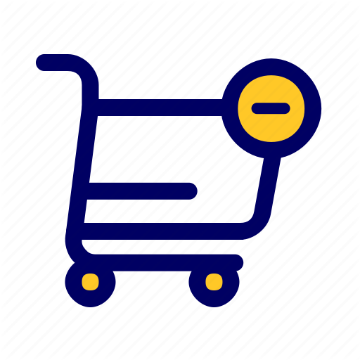 Add, Chart, Remove, Shopping Icon