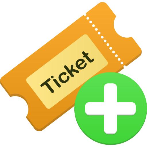 Collection Of Tickets Icons Free Download