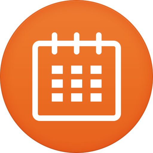 Calendar Icon Circle Iconset
