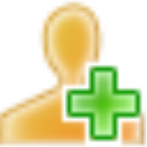 Yellow, Add, User Icon