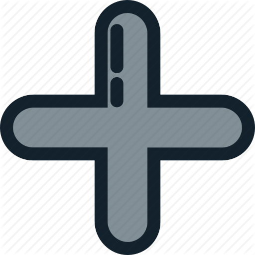 Addition, Math, Plus, Positive, Sign Icon
