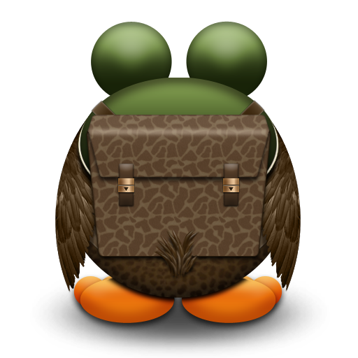 Away Without Stitching Icon