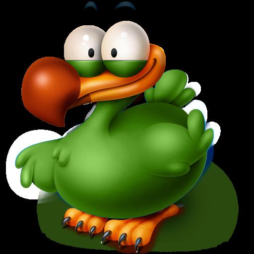 The Extinct Flightless Adium Bird Icon Titto The Dodo Iconset