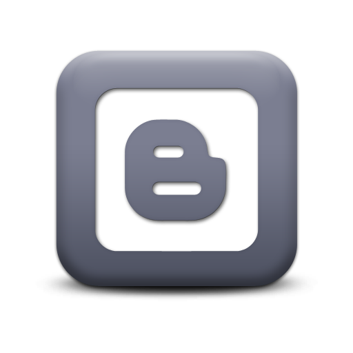 Blogger Grey Logo Icon Free Icon Pack