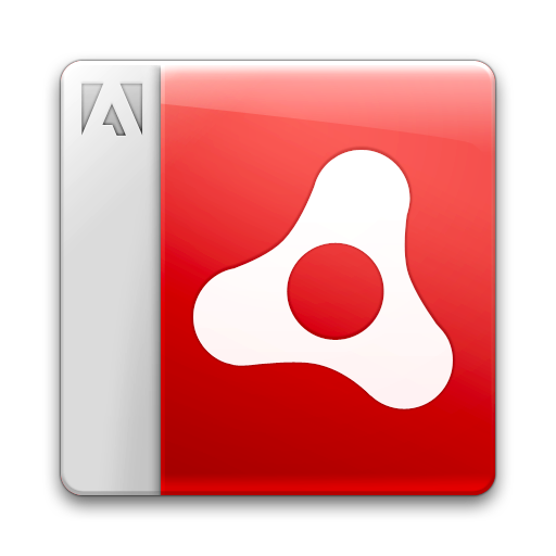 Adobe, Air, Document, Icon