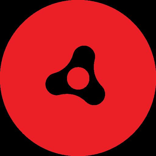 Adobe, Air, Round Icon
