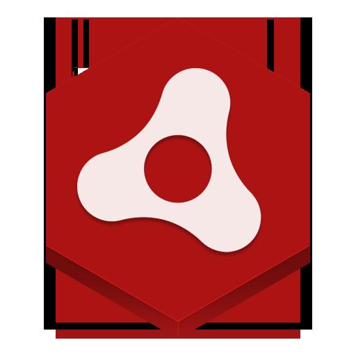 Adobe Air Icon Hex Iconset