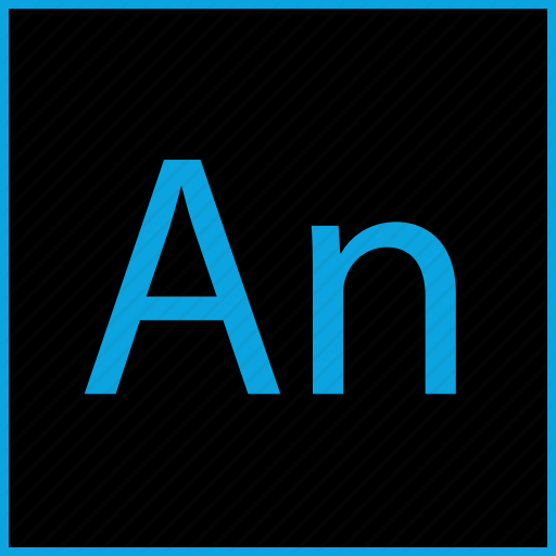 Adobe, An, Animate, Animation Icon