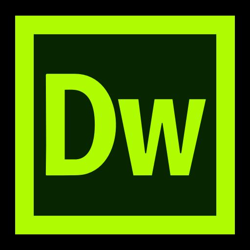 Dreamweaver, Adobe, Creative, Cloud, Cc Icon
