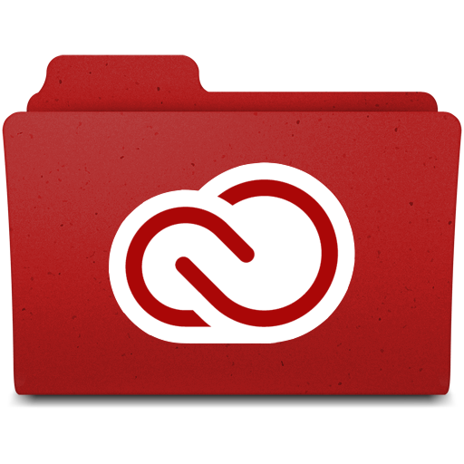 Folder Icon For Adobe Creative Cloud