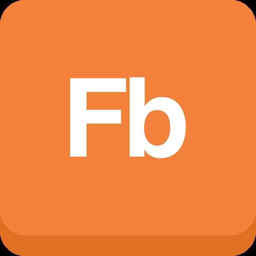 Builder, Flash, Adobe Icon