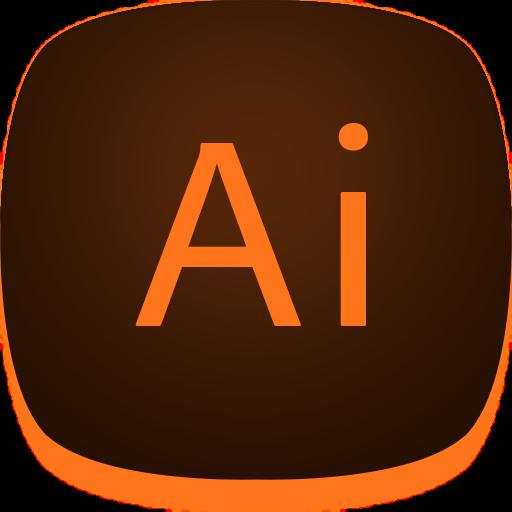 Adobe, Illustrator, Design Icon