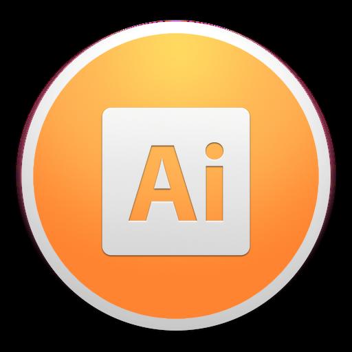 Adobe Illustrator Icon Custom Round Yosemite Iconset Paulo Ruberto