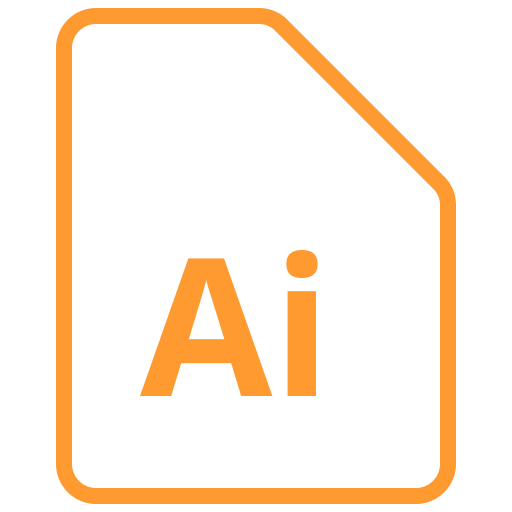 Document, Adobe, Illustrator Icon