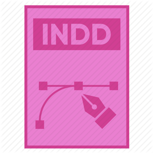 Adobe, Document, Extension, File, Format, Indd, Indesign Icon