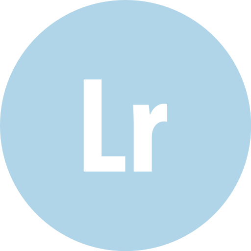 Adobe, Lightroom, Round Icon