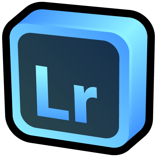 Adobe Lightroom Icon Cartoon Addons Iconset Hopstarter
